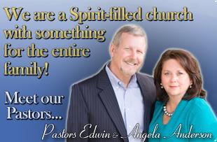 Meet Pastors Edwin & Angela Anderson